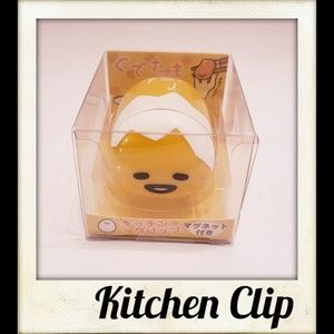 🎨👼🏽🆕️  Gudetama Magnetic Kitchen Clip